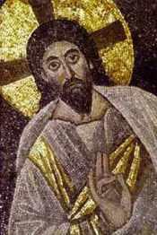Apse mosaic. St Catherine's Monastery, Sinai. circa A.D. 565