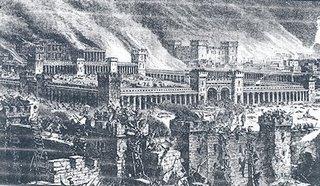 Temple destroy black