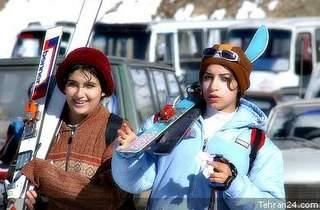 Iranian skiers