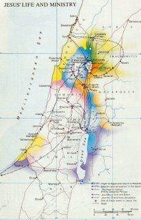 Jesus map