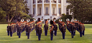 The USA has more people in its military <i>bands</i> than in its diplomatic corps (U.S. Army Ceremonial Band)
